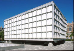 Exterior of the Beinecke Library