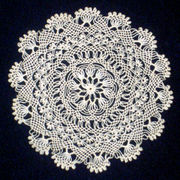 Armenian needlelace circa 2004.